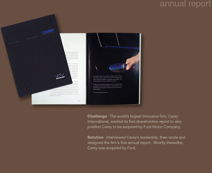 Carey Annual Report