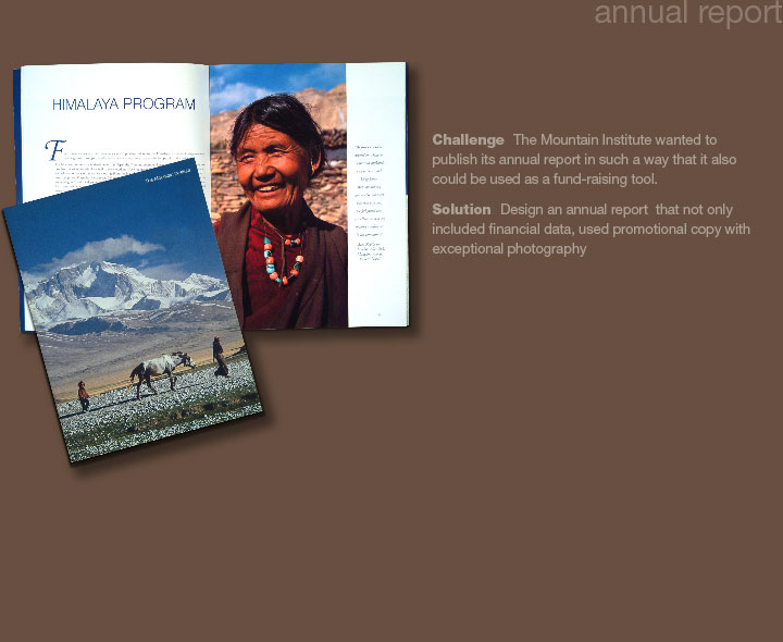 Mountain Institute Annual Report