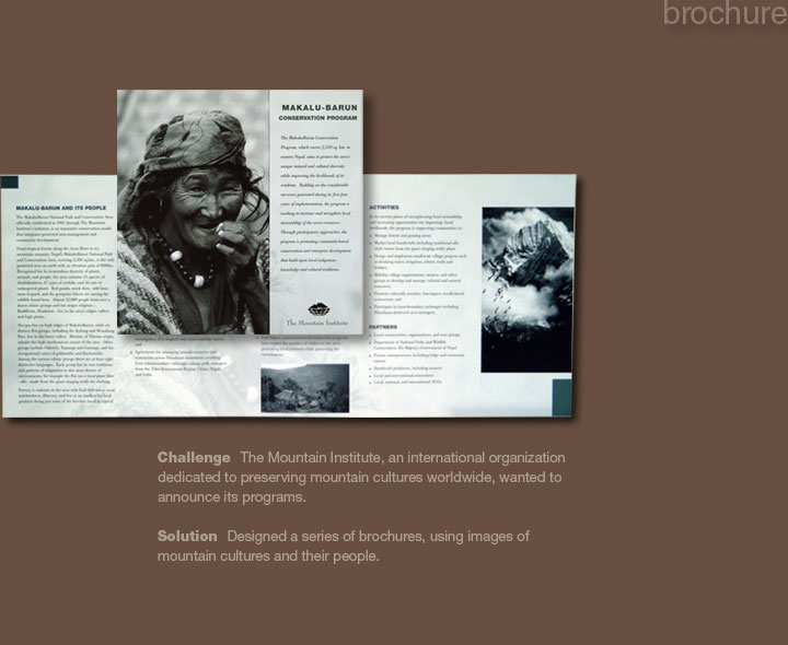 Mountain Institute Brochure