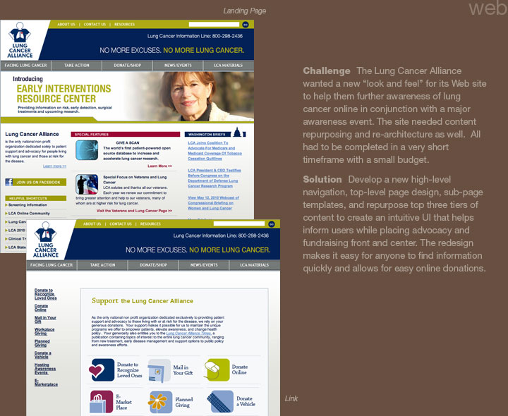 Lung Cancer Alliance Web
